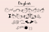 Unicorn Island Font and Dingbats example image 8