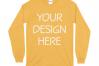 Gildan 5400 Long Sleeve Tshirt Mockups-16 example image 7