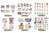 Ultimate Halloween SVG Bundle Vol. 1 & Vol. 2 in SVG & DXF example image 7
