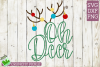 Oh Deer Christmas SVG File example image 2