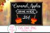 Fall SVG,Thanksgiving SVG, Caramel Apples, Farmhouse, Autumn example image 1