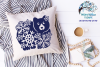Winter Bear SVG | Bear with Snowflakes SVG Cut File example image 2