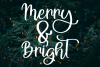 A Holiday Story - A Christmas Hand-Written Font Trio example image 4