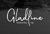 Gladline Script Font example image 1
