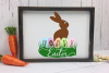 Hoppy Easter Chocolate Bunny - An Easter SVG example image 3