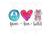 Peace Love Ballet example image 1