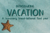 Vacation - A Summery Hand-Written Font Pair example image 1