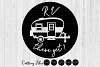 RV there yet| svg cut files | cricut |camping life | example image 1