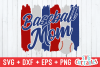 Baseball Mom   SVG Cut File example image 2