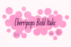 Cherripops Bold Italic example image 1