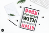 HOLLY JOLLY a Bold Christmas Font example image 3