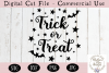 Trick or Treat SVG, Halloween SVG, Digital Cutting File example image 2
