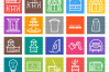 50 Home Line Multicolor B/G Icons example image 2
