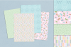 Pastel 80's Seamless Patterns example image 3