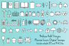 Planner Icons Digital Stamps example image 1