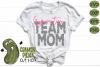 Gymnastics Mom & Bonus Team Gymnast Mom Sports SVG Cut File example image 3