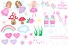 Fairy clipart,Unicorn clipart,Fairy graphics & Illustrations example image 2