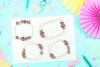 Geometric Gold Frames, Floral Crystal Frames, Wedding Frames example image 2