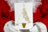 Christmas tree foil quill / sketch single line files example image 3