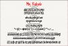 Mr. Kebab - Script Font example image 6