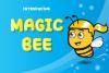 Magic Bee Display Font example image 1