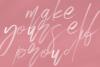 Magic Winter - A Serif/Script Handwritten Font Duo example image 6