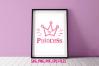 princess crown/ svg ,eps, png file example image 1