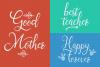 Sallisa - beautiful script font example image 9
