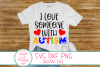 I Love Someone With Autism SVG, DXF Autism, Autism Awareness example image 1