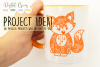 Fox paper cut SVG / DXF / EPS files example image 6