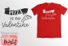 Pizza Is My Valentine SVG DXF EPS PNG example image 2