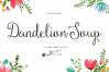 Dandelion Soup + Ornaments example image 1