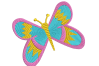 8 Butterflies Machine Embroidery designs example image 2