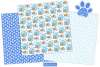 Dog Digital Papers, Dog Patterns, Puppy Dogs -P40 example image 2