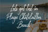 Glossy Night - Luxury Handbrush Font example image 8