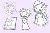 Hidden Tower Digital Stamps example image 4