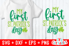 My First St. Patrick's Day | Cut File example image 1