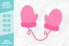 Mittens SVG DXF EPS PNG example image 1