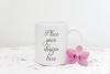 Coffee mug mockup white cup mockup rusting spring example image 1