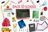 Watercolor Clip Art - Back to School example image 1