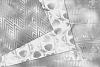 Silver Art Deco Digital Paper example image 2