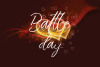 Battle Day Brush Font Trio example image 9
