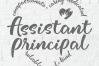 Assistant principal svg, Asst principal svg, heart shape svg example image 2