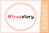 True Story SVG, Easter Cutting Files, Christian Easter SVG example image 1