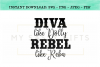 Diva Like Dolly Revel Like Reba Funny Country SVG Design example image 1