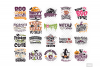 Halloween SVG Quotes & Phrases Bundle in SVG, DXF, PNG, EPS example image 4