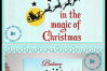 Believe in the magic of Christmas Santa and reindeer quote example image 6