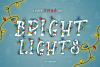 Bright Lights // A Merry Christmas Font example image 1
