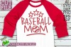 Baseball Mom Sports SVG Cut File example image 1