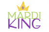Mardi King SVG Files Printable Clipart Silhouette SVG for Circuit Designs SVG Cut Files Iron On Templates Digital Scrapbooking  example image 1